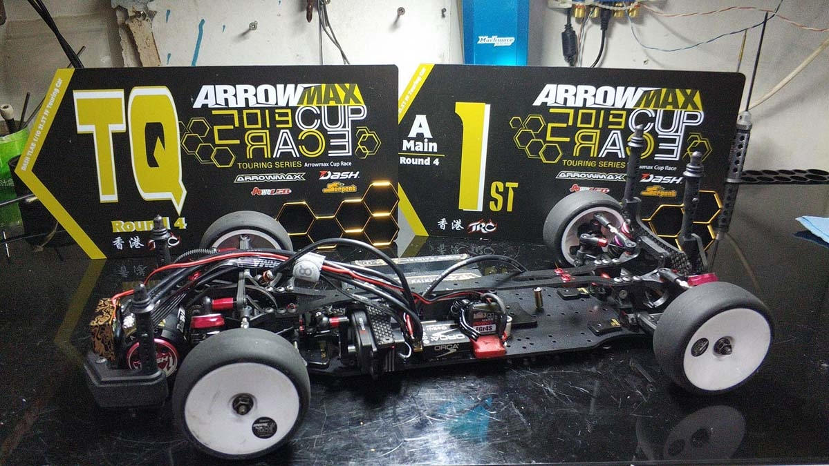 Chauman's FT1S TQ and Wins @ Arrowmax Cup