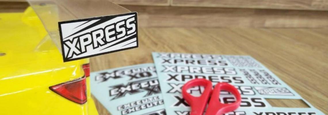 Execute XQ1 body sticker