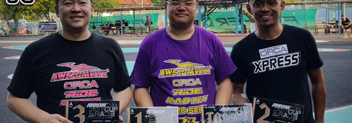 Azri Amri got A2 in Malaysia Arrowmax Cup Rd1