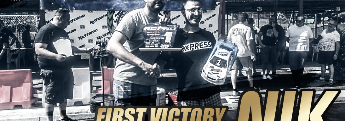 First Victory for Team Xpress Italy: Nik TQA1!