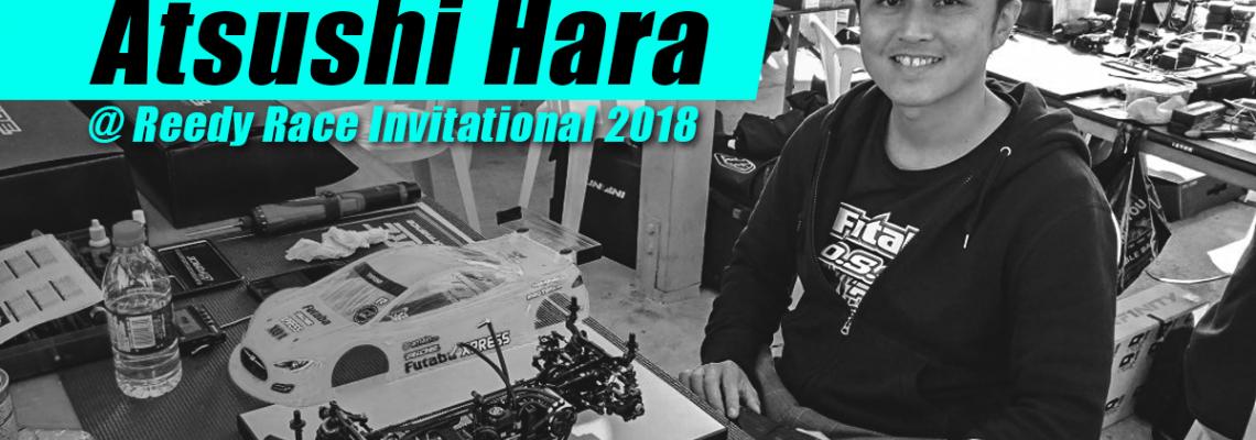 Atsushi Hara's Road to Reedy Race 2018