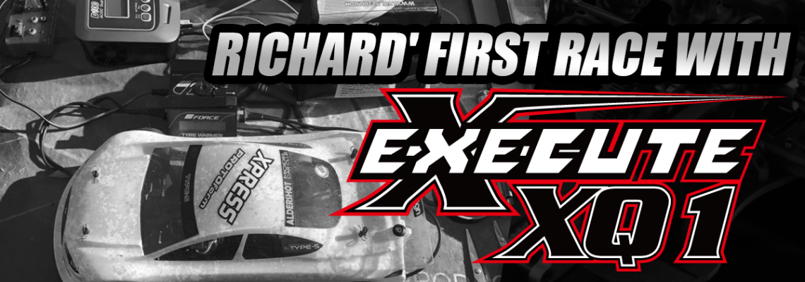 Richard's First Race with Execute XQ1