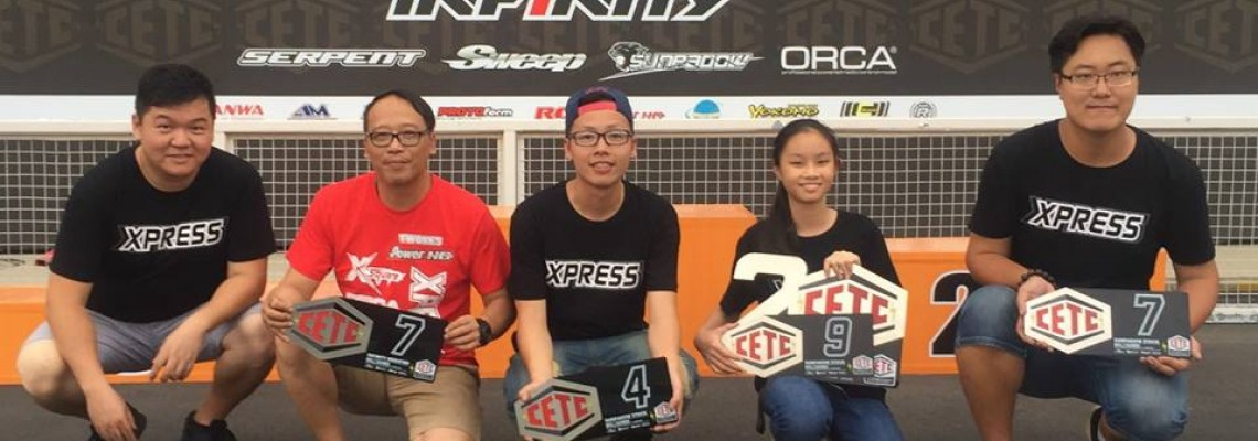 Team Xpress in CETC Round 2, 2017