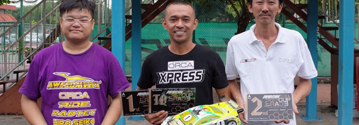 Azri Amri got TQ & A1 at the Arrowmax Asia Race Cup 2017