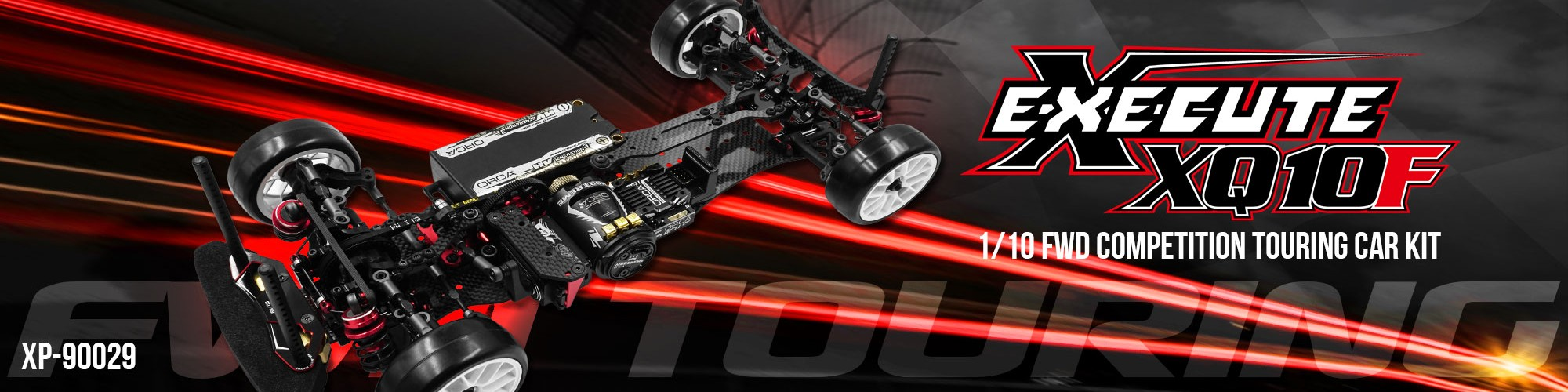 EXECUTE XQ10F 1/10 FWD COMPETITION TOURING CAR KIT