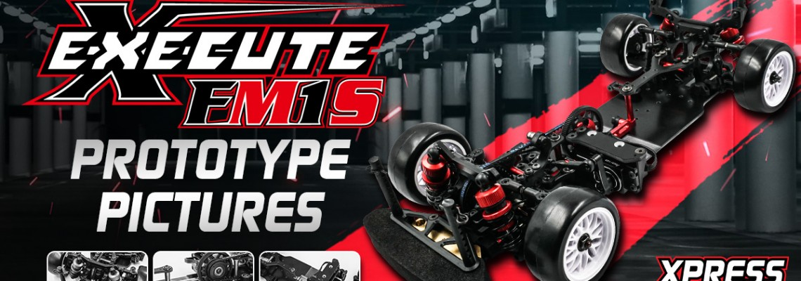 Execute FM1S 1/10 FWD M-Chassis Mid Motor Prototype!