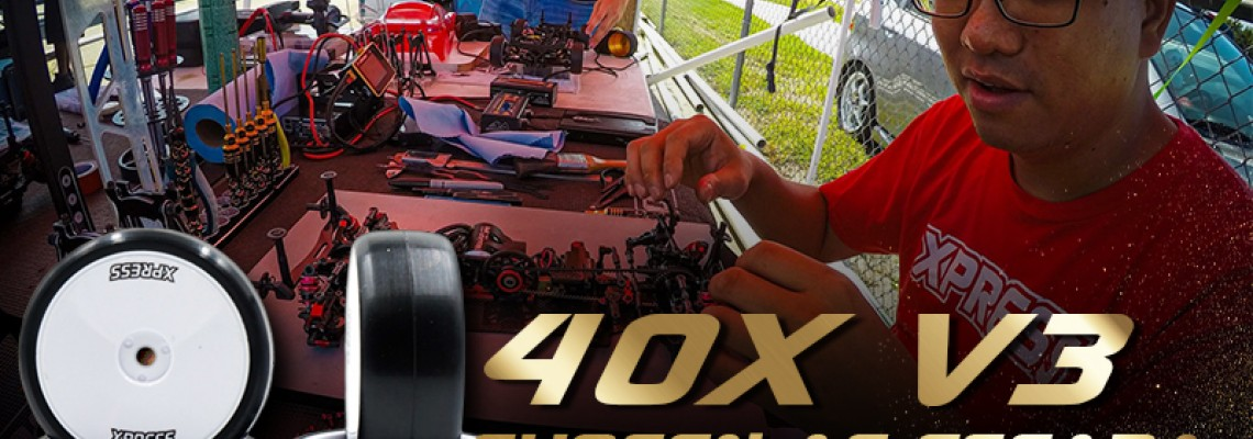 Xpress 40X V3 Touring Car Wheelset Chosen as Fseara Control Tire