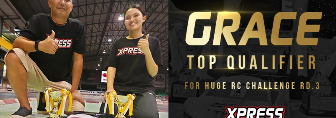 Grace Top Qualifies at Huge RC Challenge RD.3 with Execute XQ10