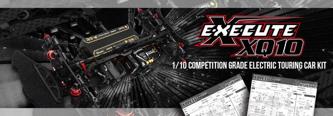 Xpress Execute XQ10 Team Driver Base Setups!