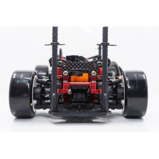 MXD58 Drift Tire Softest Red For 1/10 Mini K Chassis