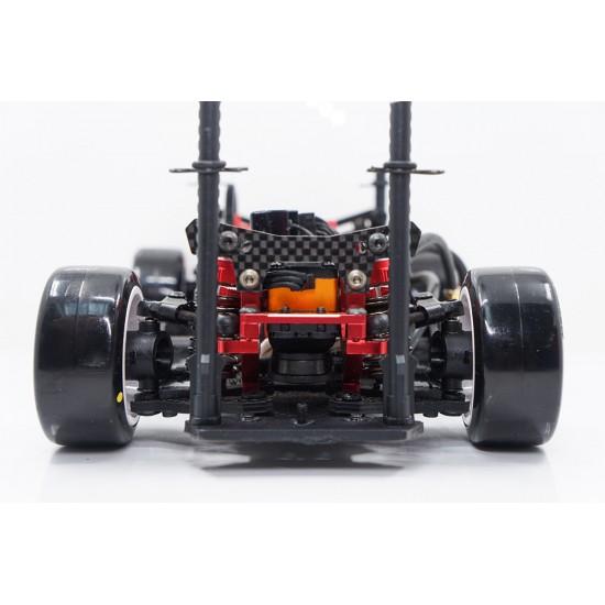 MXD58 Drift Tire Soft Orange For 1/10 Mini K Chassis