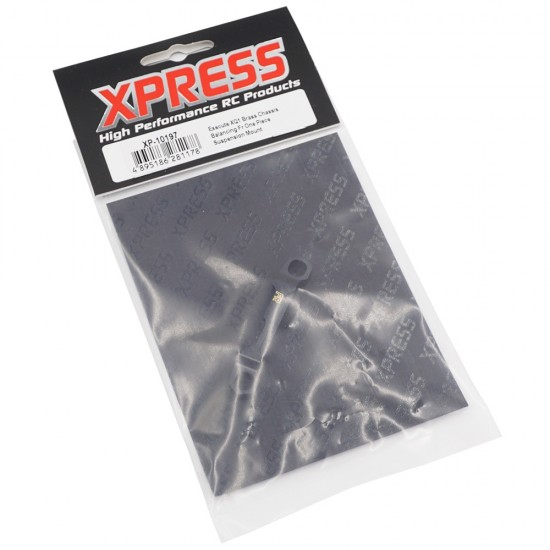 Execute XQ1 Brass FR One Piece Suspension Mount For XQ1 XQ1S XM1S