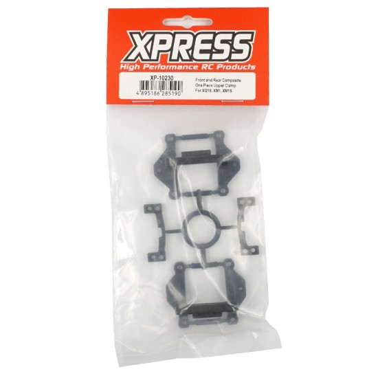 Execute XQ1S Front and Rear Composite One Piece Upper Clamp