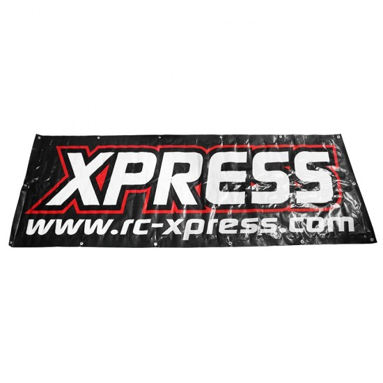 RC Track Banner Black 220cm x 80cm