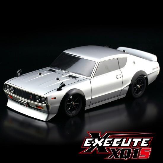 Execute XQ1S 1/10 Assembled Kit ARTR Touring Car w/ ABC Hobby NISSAN Skyline 2000 GT-R Body