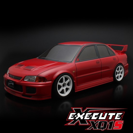 Execute XQ1S 1/10 Assembled Kit ARTR Touring Car w/ ABC Hobby Mitsubishi Lancer Evolution III Body