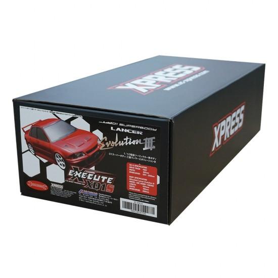 Execute XQ1S 1/10 Assembled Kit ARTR Touring Car w/ ABC Hobby Mitsubishi Lancer Evolution III Body