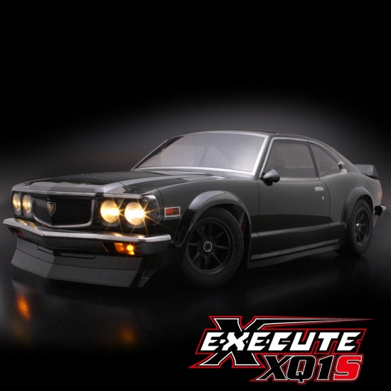 Execute XQ1S 1/10 Assembled Kit ARTR Touring Car w/ ABC Hobby Mazda Savanna Coupe GT Body