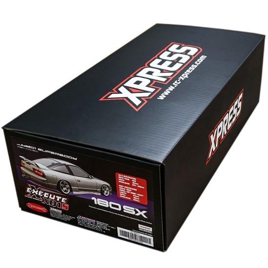 Execute XQ1S 1/10 Assembled Kit ARTR Touring Car w/ ABC Hobby Nissan 180SX Body