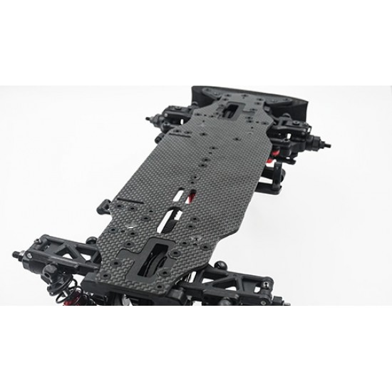 Graphite 2.25mm Bottom Chassis Plate For Execute XM1 XM1S