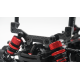 Graphite 3.0mm Front Shock Tower For Execute XM1 XM1S