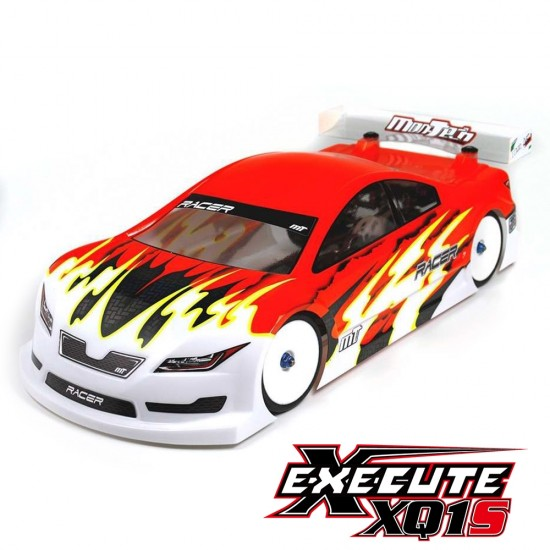 Execute Sport XQ1S 1/10 ARTR Touring Car with Mon-Tech Racer Light