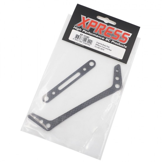 Graphite Body Post Stiffener Front and Rear For XQ1 XQ1S