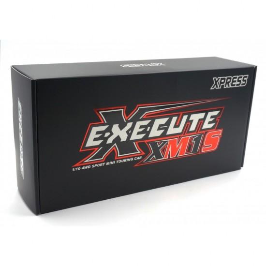 Execute XM1S Assembled 1/10 4WD Mini Touring Car Kit ARTR