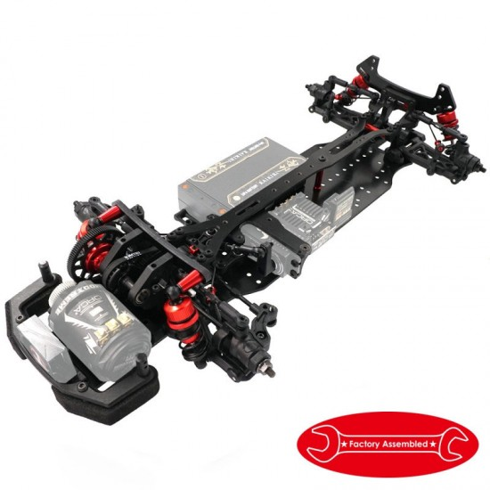 Execute FT1S Assembled 1/10 Sport FWD Touring Car Kit ARTR