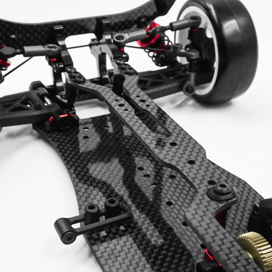 Graphite 2.0mm One Piece Top Deck For Execute XQ10 FWD