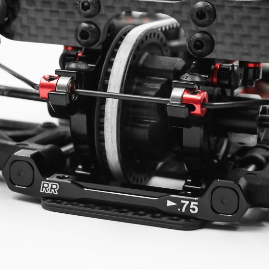 Aluminum +0.75mm RR Lower one Piece Suspension Mount For Execute XQ1 XQ2S XM1 FT1 XQ10