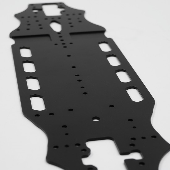 2mm Aluminum Main Chassis Plate For Execute XQ1 XQ1S XQ2S