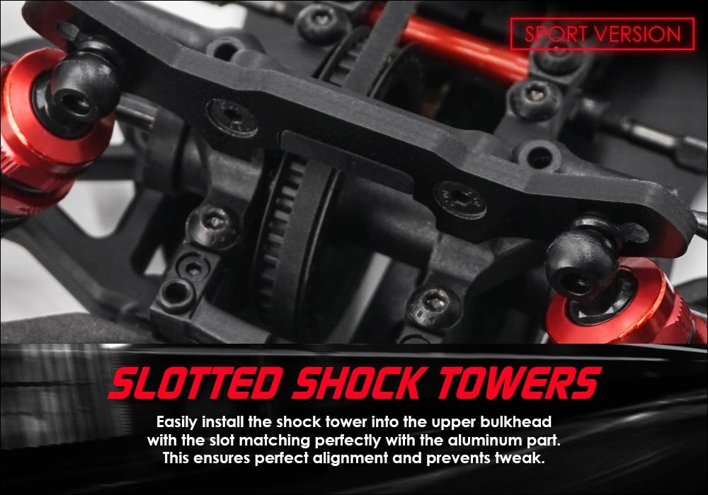 Execute XQ1S 1/10 Sport Touring Car Kit #XP-90006